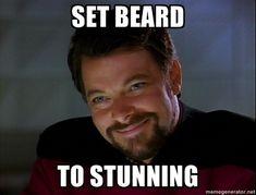 William Riker = the perfect man.