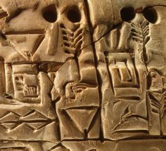 Sumer: BCE, Uruk, the oldest written tablets in Mesopotamia. This fits well with some Sumerian legends that make this town the invention of writing. Ancient Aliens, Ancient Egypt, Ancient History, Ancient Mesopotamia, Ancient Civilizations, Historical Artifacts, Ancient Artifacts, Akkadian Empire, Cradle Of Civilization