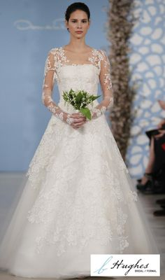 c029e1ce245 14 Best Oscar de la Renta at b.Hughes Bridal images