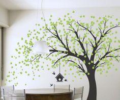 Arboles para dibujar en paredes -Murales de pared son una herramienta creativa de decoración del
