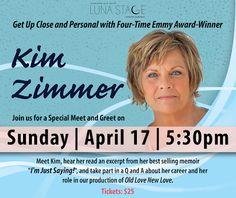 New Jersey Footlights: Emmy Award-Winning Actress Kim Zimmer will do a Me...
