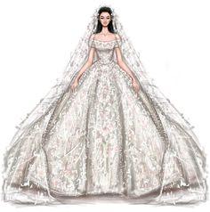 @shamekhbluwi #Ramikadi #Bridal #FashionIllustrations |Be Inspirational ❥|Mz. Manerz: Being well dressed is a beautiful form of confidence, happiness & politeness