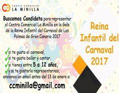 Grupo Mascarada Carnaval: ¿Quieres ser candidata a Reina Infantil del Carnav...