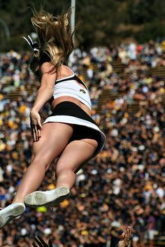 Cheerleading IMG_2273 by Monica's Dad, via Flickr college cheer cheerleading cheerleader
