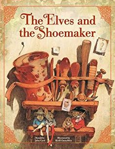 Image result for elves and the shoemaker book