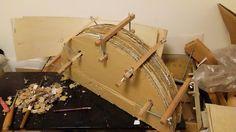 自作楽器研究所|Homemade Instruments: 自作ティンパニフレームドラムの製作:モールド(型)を作り直す