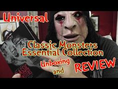 Universal Classic Monsters Essentials Collection Blu-ray Review & Unboxing  #classichorror #horrorfilms #blurayreview #dracula #frankenstein #brideoffrankenstein #phantomoftheopera #themummy #thewolfman #thewolfman #universalmonsters #classicmonsters #horror