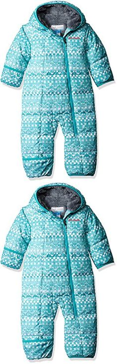Columbia Baby Girls' Frosty Freeze Bunting, Miami Fair Isle, 12-18 Months