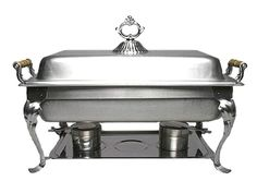 Chafer, Stainless 8qt Fancy  Image  Rental Rate: $18.00