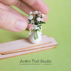 1:12 #dollhouse #miniature #handmade #flowers