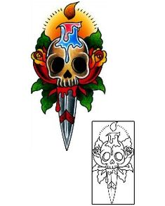 Traditional Tattoos BKF-00121 Created by Captain Black
