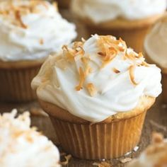 Coconut Cupcakes with Cream Cheese Frosting | Williams-Sonoma