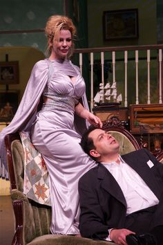 Ruth condomine blithe spirit pinterest fashion for Woodinville theater