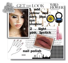 """get the look"" by aleena-nazish ❤ liked on Polyvore featuring beauty, Envi, Sugarpill, MAC Cosmetics, Giambattista Valli and LORAC"