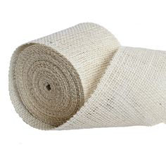Burlap Wedding Ribbon in Off White | Wedding Decorations | Hassle Free Shipping