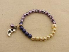 Period Tracking Bracelet, Selene Beads Bracelet,Tween Jewelry, Menstruation Jewelry, First Period Gift, Menarche Gift, First Moon Gift
