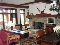 Lodge vacation rental in Bachelor Gulch from VRBO.com! #vacation #rental #travel #vrbo