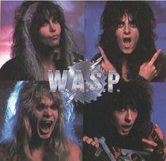 The original line up, W.A.S.P.