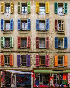 Colourful - so pretty!
