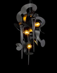 Kelp Fortuna, lighting design by William Brand of Brand van Egmond Custom Lighting, Modern Lighting, Lighting Design, Contemporary Chandelier, Contemporary Design, Pendant Lamp, Pendant Lighting, Light Art, Light Fixtures