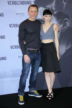 Rooney Mara and Daniel Craig take Berlin