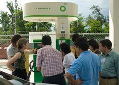 Inspecting a Hydrogen Fuel Pump. #IVLP #culturaldiplomacy