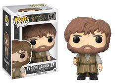 Game of Thrones POP! Television Vinyl Figur Tyrion Lannister 9 cm mit Bart