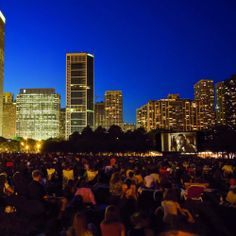 Every Summer outdoor movie screening in Chicago, in one calendar