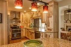 Awesome Hickory Cabinets Contemporary Kitchen Rustic Flair Wood Cabinetry