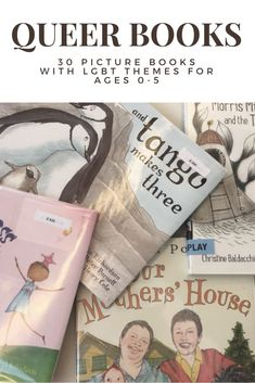 Queer Books for Pride | LGBT Picture Books