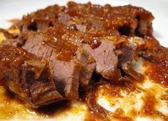 Na Cozinha da Margô: Esta é a Famosa Carne de Panela que desfia - - Best Soup Recipes, Pork Recipes, Cooking Recipes, Amazing Recipes, Healthy Recipes, Passover Recipes, Jewish Recipes, Como Hacer Salsa Bbq, Salsa Barbacoa Casera