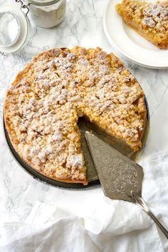 Omas Apfelkuchen mit Streusel, Apfelkrümel Rezept
