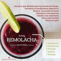 ¡Sí!,es necesario oxigenar nuestra sangre, de ahí que os traiga este zumo de remolacha.  Conoce todos los beneficios, como tomarlo y las propiedades de todos los ingredientes de este delicioso zumo  ¡Por una sangre oxigenada! #bewaterbereal #remolacha #yoga #greenjuice #zumosverdes #meditacion #detox #oxiginasangre #zumo #positive  #serfeliz #healthy #sangre #7zumosverdes #calma #reiki #energia #holistica #aquiyahora #cuidate #smoothie #batidos #fit #organico #retozumosverdes #veggies…