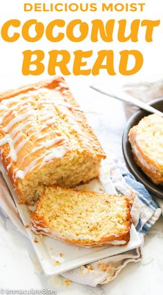 Keto Bread Recipe Without Baking Powder No Bread Diet, Best Keto Bread, Bread Recipes, Baking Recipes, Keto Recipes, Flour Recipes, Keto Banana Bread, Coconut Flour Bread, Jamaican Coconut Bread Recipe