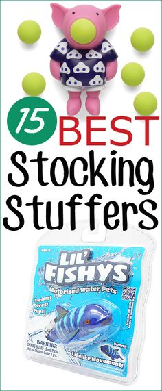 15 Best Stocking Stuffers.  Fun and Creative Stocking Stuffers that aren't candy.  Fun activities and toys that will keep the kids busy and entertained.  Kid tested, Mom approved!