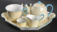 Noritake N3957 6-Piece Breakfast Set (Flat Cup) Breakfast Set, Noritake, Tea Time, Dinnerware, Tableware, Jay, Porcelain, Pretty, Breakfast Nook Set