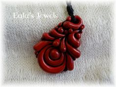 Red passion pendant by Shatiel85.deviantart.com on @deviantART