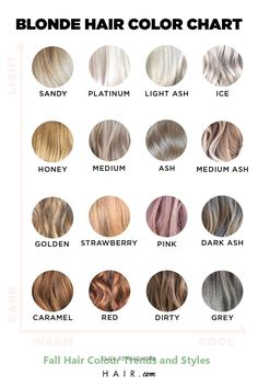 If you're looking for inspiration, look no further than the ultimate blonde hair color chart. From strawberry blonde to ash blonde, we've got you covered. color blonde From Ash To Strawberry: The Ultimate Blonde Hair Color Chart Blonde Hair Shades, Blonde Hair Looks, Brown Blonde Hair, Hair Color Shades, Black Hair, Ash Hair, Light Ash Blonde, Cool Ash Blonde, Blonde Foils
