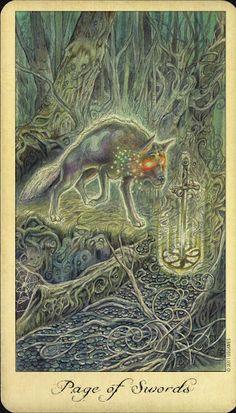 Page of Swords - Ghosts and Spirits Tarot - rozamira tarot - Picasa Web Albums
