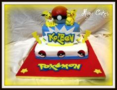Kolbens Pokemon By mimi4bye on CakeCentral.com
