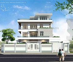 Biệt thự đẹp hiện đại | 4 tầng | 3 mặt tiền | BTNNX070