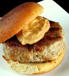 Asian Turkey Burgers - http://www.quickneasyrecipes.net/asian-turkey-burgers/