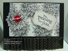 Praying For You Card Faux Tile
