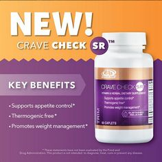 Weather your craving something Sweet,salty,or overall unhealthy Advocare's Crave Check is designed to keep your craving in check. Click Image for more details.