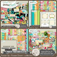 New Release: Power Up/Power Down Collab with Seatrout Scraps & Mandy King! Available as separate packs or as one huge bundle, the packs are only $1 each all week.. Blog Post; http://seatroutscrapsdesigns.com/1/post/2015/06/power-uppower-down-collab.html. 06/14/2015