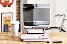 Beolit 12 - portable speaker by Cecilie Manz for Bang & Olufsen #hightech #design #speakers #grey