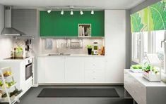 Catalogo Ikea cucine 2016 - Cucina con elementi verdi