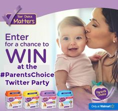 Join the Parents Choice Twitter Party on April 26, 2017 from 8-9 pm EST where you can win one of five $100 Walmart gift card prizes. RSVP today!
