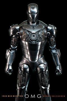 Hot Toys IRON MAN 2 - Mark II Armor Unleashed — GeekTyrant