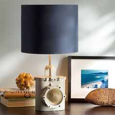 If you do a nautical theme for C. Leeward Lamp Base | PBteen